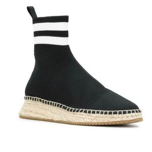 Alexander Wang Dylan High Ankle Sock Espadrille 39